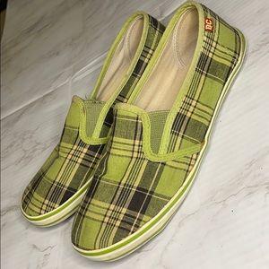 BC Footwear - Tartan Slip Ons